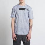 Мужская футболка Stone Island Shadow Project Cotton Jersey Catch Pocket Blue фото- 6