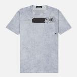 Мужская футболка Stone Island Shadow Project Cotton Jersey Catch Pocket Blue фото- 0