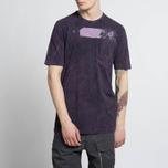 Мужская футболка Stone Island Shadow Project Cotton Jersey Catch Pocket Purple фото- 6