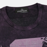 Мужская футболка Stone Island Shadow Project Cotton Jersey Catch Pocket Purple фото- 1