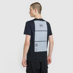Мужская футболка Stone Island Shadow Project Geometric Print Front Black фото- 4