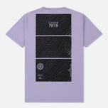 Мужская футболка Stone Island Shadow Project Geometric Print Front Lavender фото- 1