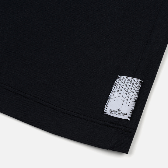 Мужская футболка Stone Island Shadow Project Mako Jersey Pocket Navy Blue