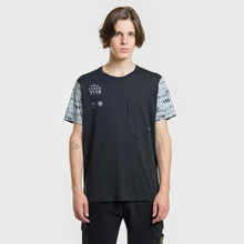 Мужская футболка Stone Island Shadow Project Printed 7119 Black фото- 1