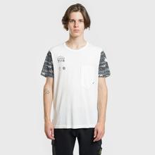 Мужская футболка Stone Island Shadow Project Printed 7119 Natural White фото- 1