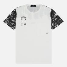 Мужская футболка Stone Island Shadow Project Printed 7119 Natural White фото- 0