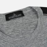 Мужская футболка Stone Island Shadow Project Printed Catch Pocket Steel Grey/Black фото- 1