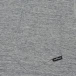 Мужская футболка Stone Island Shadow Project Printed Catch Pocket Steel Grey/Black фото- 2