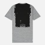 Мужская футболка Stone Island Shadow Project Printed Catch Pocket Steel Grey/Black фото- 4