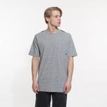 Мужская футболка Stone Island Shadow Project Printed Catch Pocket Steel Grey/Black фото- 5