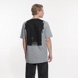 Мужская футболка Stone Island Shadow Project Printed Catch Pocket Steel Grey/Black фото- 6