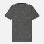 Мужская футболка Stone Island Shadow Project Printed Catch Pocket Steel Grey/White фото- 0