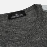 Мужская футболка Stone Island Shadow Project Printed Catch Pocket Steel Grey/White фото- 1