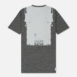 Мужская футболка Stone Island Shadow Project Printed Catch Pocket Steel Grey/White фото- 3