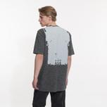 Мужская футболка Stone Island Shadow Project Printed Catch Pocket Steel Grey/White фото- 6