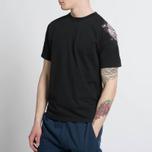 Мужская футболка Stone Island Shoulder Pin Black фото- 4
