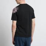 Мужская футболка Stone Island Shoulder Pin Black фото- 5