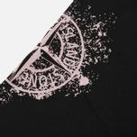 Мужская футболка Stone Island Shoulder Pin Black фото- 2