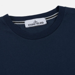 Мужская футболка Stone Island Shoulder Pin Navy Blue фото- 1