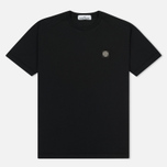 Мужская футболка Stone Island Small Logo Patch Black фото- 0