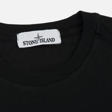 Мужская футболка Stone Island Small Logo Patch Black фото- 1