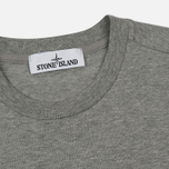 Мужская футболка Stone Island Small Logo Patch Dust Grey фото- 1