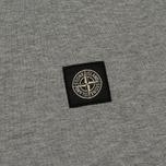 Мужская футболка Stone Island Small Logo Patch Dust Grey фото- 2