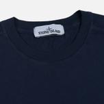 Мужская футболка Stone Island Small Logo Patch Marine Blue фото- 1