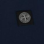 Мужская футболка Stone Island Small Logo Patch Marine Blue фото- 2
