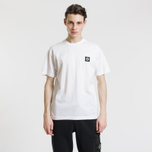 Мужская футболка Stone Island Small Logo Patch White фото- 3
