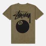 Мужская футболка Stussy 8 Ball Army фото- 3
