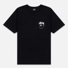 Мужская футболка Stussy 8 Ball Black/White фото- 0