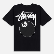 Мужская футболка Stussy 8 Ball Black/White фото- 3