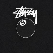 Мужская футболка Stussy 8 Ball Black/White фото- 2