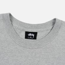 Мужская футболка Stussy 8 Ball Grey Heather/Black фото- 1