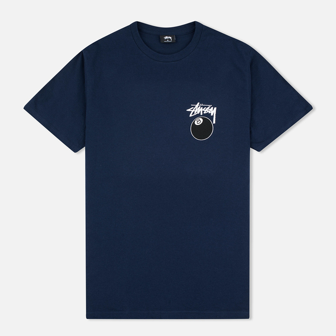 Мужская футболка Stussy 8 Ball Navy