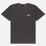 Мужская футболка Stussy 8 Ball Pigment Dyed Black фото- 0