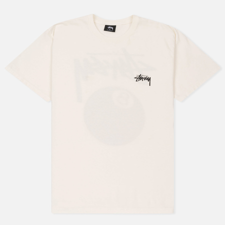 Мужская футболка Stussy 8 Ball Pigment Dyed Natural
