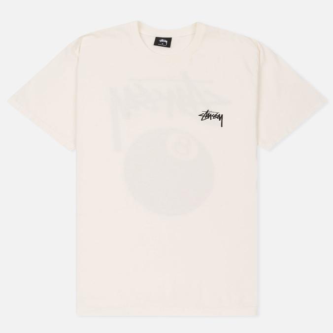 Мужская футболка Stussy 8 Ball Pigment Dyed Natural