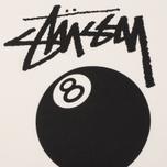 Мужская футболка Stussy 8 Ball Pigment Dyed Natural фото- 3