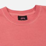 Мужская футболка Stussy 8 Ball Pigment Dyed Pink фото- 1