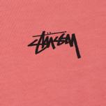 Мужская футболка Stussy 8 Ball Pigment Dyed Pink фото- 2
