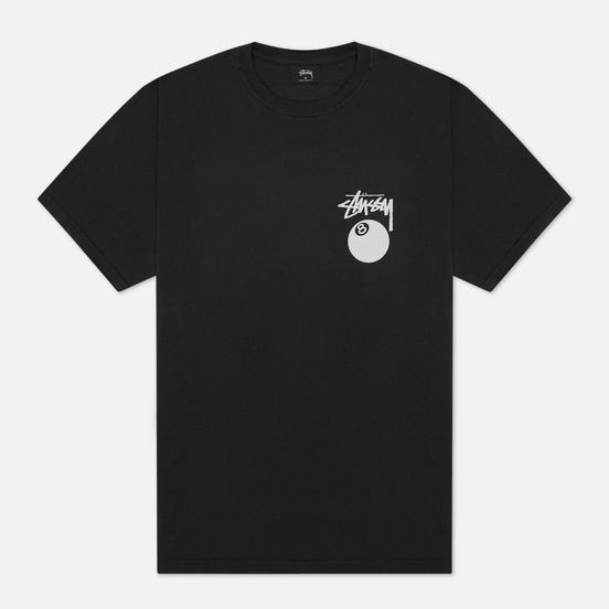 Мужская футболка Stussy 8 Ball Screenprint Pigment Dyed Black