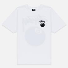 Мужская футболка Stussy 8 Ball White/Black фото- 0