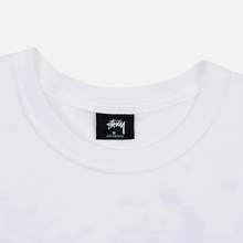 Мужская футболка Stussy 8 Ball White/Black фото- 1