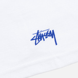Мужская футболка Stussy Aloha Cities LA White/Blue фото- 4