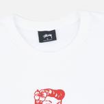 Мужская футболка Stussy Aloha Cities Paris White/Red фото- 1
