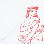 Мужская футболка Stussy Aloha Cities Paris White/Red фото- 3
