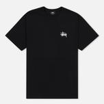 Мужская футболка Stussy Basic Black фото- 0
