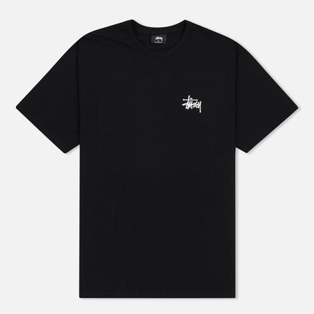 Мужская футболка Stussy Basic Black